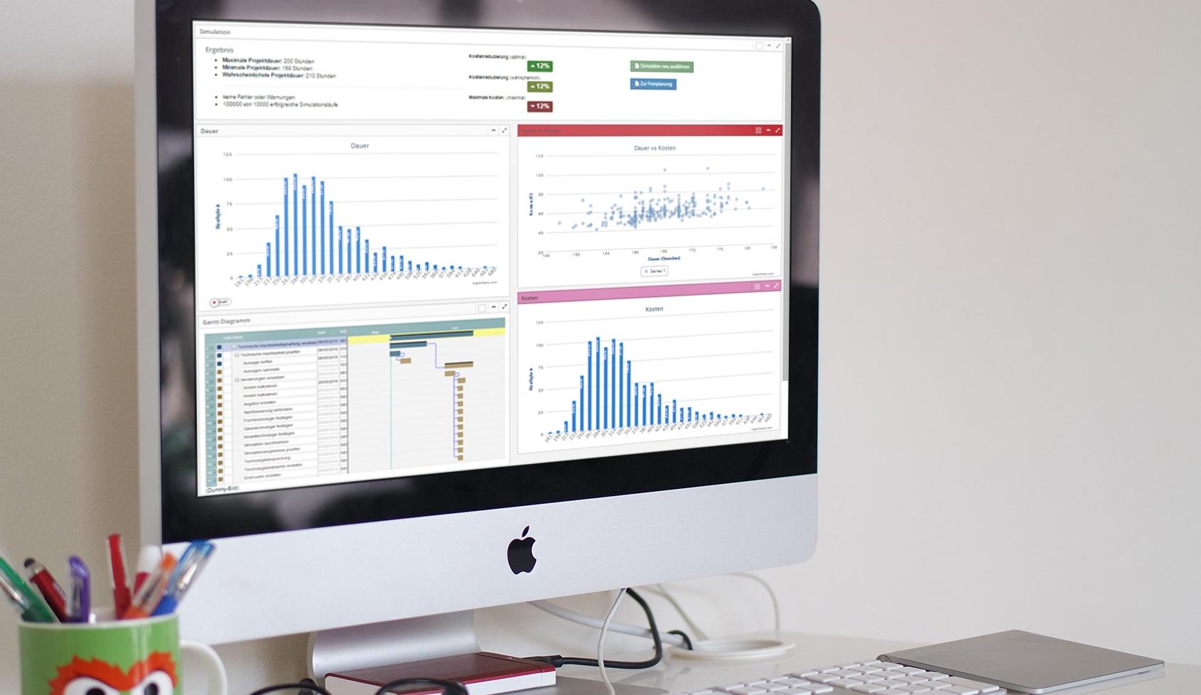 Software Statistik Interface